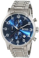 HUGO BOSS 1513183 Chronograph Mens Watch - Blue Dial