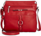Giani Bernini Nappa Leather Ring Crossbody, Created for Macy's
