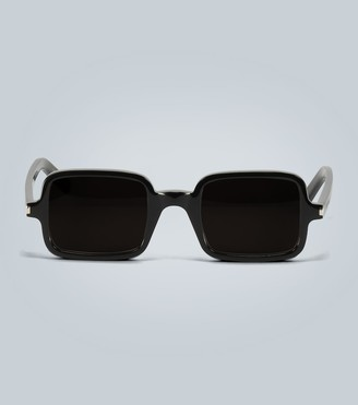 Saint Laurent Rectangle acetate sunglasses