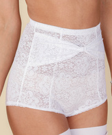 Lucy B White Sugar High-Waist Panty