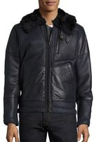 G Star Premium Air Defense Shearling Jacket