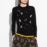 Coach Outerspace Crewneck Sweater
