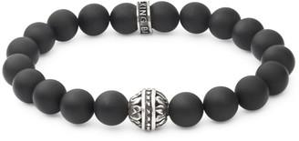 King Baby Studio Black Onyx and Sterling Silver Bracelet