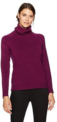 Sag Harbor Women's Long Sleeve Cowl Neck Pullover