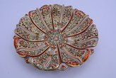 Radha Krishna Shop Leaf Shape Marble Dry Fruits Bowl