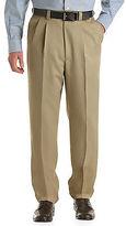 Oak Hill Waist-Relaxer Pleated Microfiber Pants Casual Male XL