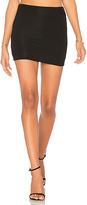 Riller & Fount Casey Mini Skirt in Black. - size 0 / XS (also in 1 / S)