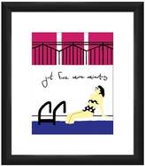 PTM Images Gorgeous Pool Girl II Wall Art