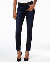 Calvin Klein Jeans Frayed-Hem Rebel Wash Skinny Jeans
