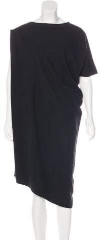 Ann Demeulemeester Silk Midi Dress