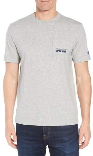 Vineyard Vines x Shark Week(TM) Sharks & Stripes Pocket T-Shirt
