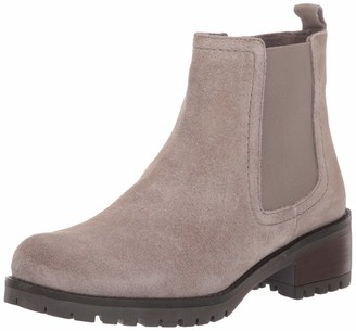 Skechers Women's LUGNUT-Suede Chelsea Boot with Rubber Lug Sole Fashion