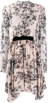 Philosophy di Lorenzo Serafini floral long-sleeve dress