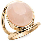 Expression Faceted Oval Stone Ring