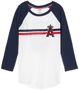 PINK Los Angeles Angels Bling Perfect Baseball Tee