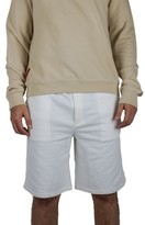 Prada Men's Cotton Bermuda Sweatshorts White Shorts
