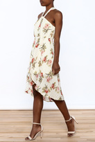 Flying Tomato Flower Print Dress