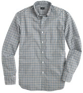 J.Crew Tall Secret Wash shirt in small check