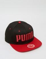 Puma ESS Flatbrim Cap In Black 5292104
