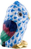 Herend Miniature Owl Figurine