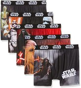 Star Wars Boy's packx5 Boxer Shorts,pack of 5