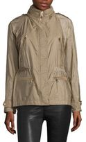Burberry Tambridge Zip Front Jacket