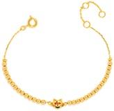 BaubleBar Lovestruck Kitty Emoticharm Bracelet
