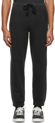 Diesel Black P-Calton-Sun Lounge Pants