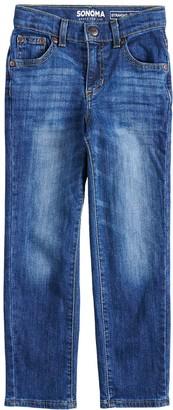 Sonoma Goods For Life Boys 4-12 Straight Jeans in Regular, Slim & Husky