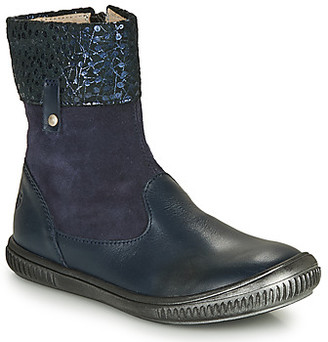 GBB ORANTO girls's Mid Boots in Blue