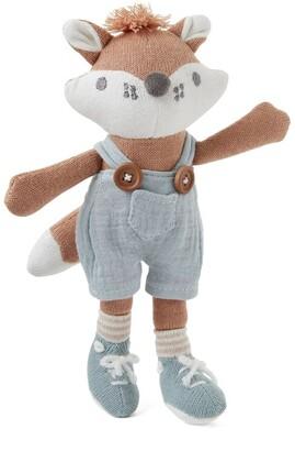 """Elegant Baby Fox Knit Toy 8"""""""