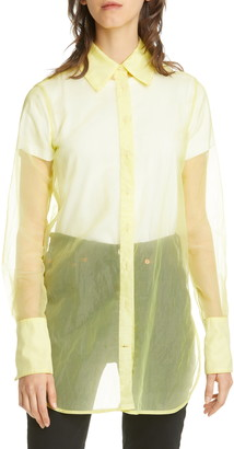 Simon Miller Rowena Sheer Long Sleeve Shirt