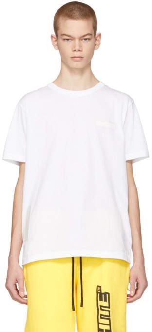 Off-White Off White White Holzer Cons Slim T-Shirt