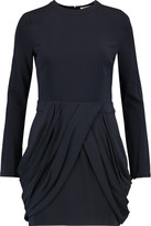 A.L.C. Tolan Pleated Crepe Mini Dress
