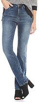 Jones New York Lexington Stretch Denim Madison Wash Straight-Leg Jeans