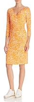 St. Emile Pablo Printed Crossover Dress