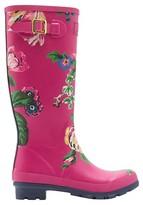 Joules Women's Sophia Floral Print Rain Boots