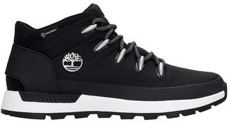 Timberland Sprinttreker Mid Sneakers In Black Synthetic Fibers