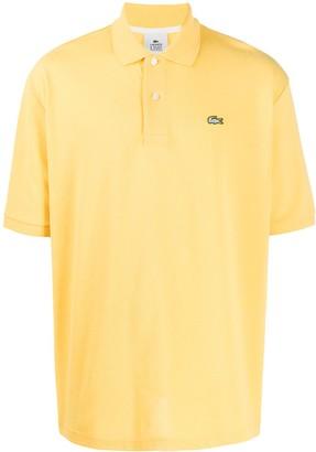 Lacoste Live Logo-Patch Polo Shirt