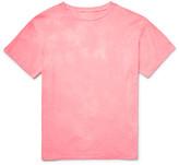 The Elder Statesman - Washed-cotton Jersey T-shirt