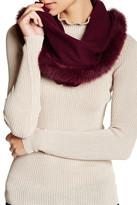 Sofia Cashmere Genuine Fox Fur & Cashmere Snood