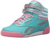 Reebok Frozen Freestyle Hi Classic Shoe (Little Kid)