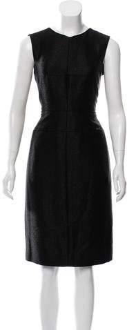 Chanel Wool-Blend Sheath Dress