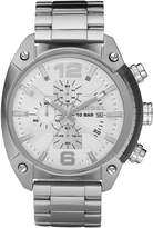 Diesel Men's DZ4203 Silver Stainless-Steel Quartz Watch with Silver Dial