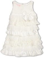 Biscotti Sleeveless Tiered Lace Dress (Little Kids) (Ivory) - Apparel