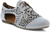 Spring Step Lace-Up Leather Derby Oxfords - Theone