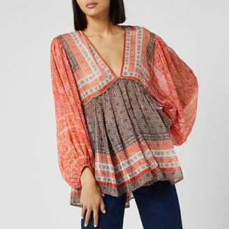 Free People Women's Aliyah Printed Tunic Top