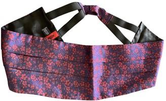 Moschino Purple Cloth Belts