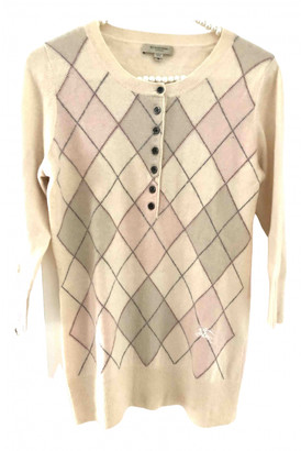 Burberry Pink Cashmere Knitwear