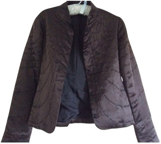 Reiss Black Silk Jacket for Women
